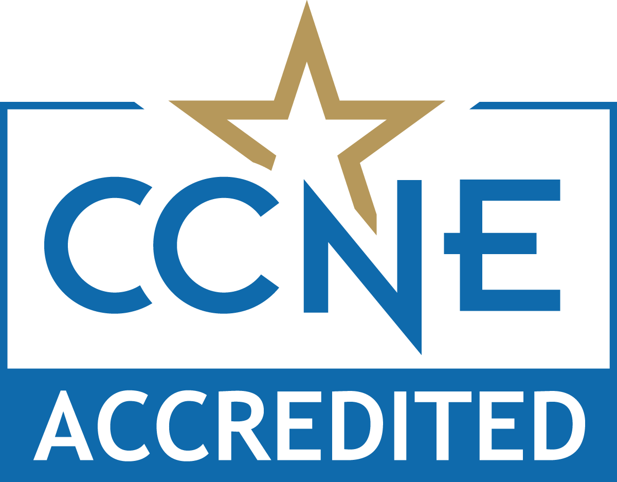 Accredited by the Commission on Collegiate Nursing Education (CCNE)